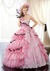 New Lace Ball Gown Organza Quinceanera Dresses Prom Dress Formal Party Gown