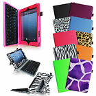 "Removable Bluetooth Wireless Keyboard Folio Case Cover for iPad mini 7.9"" inch"