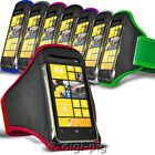 SPORTS ARMBAND STRAP CASE AND PROTECTIVE POUCH FOR NOKIA LUMIA 1020 MOBILE PHONE