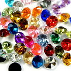 WHOLESALE VARIOUS COLOR 7MM/33SS ACRYLIC RHINESTONE DIY POINTED CRAFT BACK B0281
