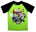 Skylanders Swim Shirt Sun Rashie UPF50+ Sizes 5 & 6 Kids Boys New Licensed BNWT