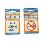 1 pcs Self Adhesive Sign No Smoking 5.5x5.5cm