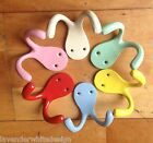 coloured coat hooks