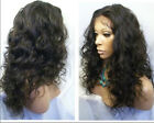 "Hot! 8""-22"" Malaysia curly Soft wig 100% remy human hair wigs Density 140%-160%"