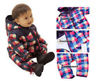 Baby Girl Boy Clothes (SNOWSUITS) - Cool & Colourful Padded w Cotton, WARM Suit