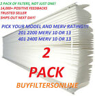 2 APRILAIRE SPACEGARD REPL FILTERS 201 2200 OR 401 2400 MERV 10 OR 13 YOU PICK