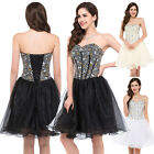 Sexy Women Formal Bridal Prom Gown Cocktail Wedding Party Evening Princess Dress