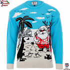 Christmas in Australia - Mens Knitted Christmas Jumper Xmas Sweater