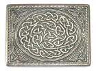 Pewter Knot Kilt Belt Buckle in a Matt or Polished Finish