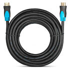 High Speed 25ft CL3 HDMI LEAD CABLE v1.4 1080P HD for BLU RAY PS3 LCD Xbox 360