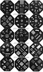 QA 1-60 Designs Nail Art Image Stamp Stamping Plates Manicure Template #V093