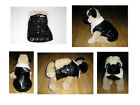 DOG COAT Faux Leather Biker Flying Jacket Small Medium Large NEW BNWT