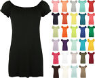 New Plus Size Womens Gypsy Boho Ladies Short Sleeve Stretch T-Shirt Top 12-30