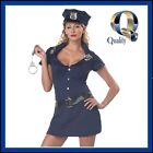 Women's Police Women Costume | BEST Cop Fancy Dress & Converts into Zombie Cop