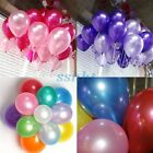 100pcs Helium Balloons Party Wedding Birthday Latex Balloons
