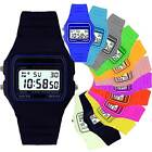 Vintage 80's Retro Digital Rubber Watch F-91W - CHRISTMAS GIFT/STOCKING FILLER
