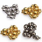 10Sets Silver/Gold Plated Round Ball Magnetic Clasps 6/8mm For Jewelry Making
