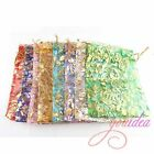 New 150pcs  Jewelry Pouches Wedding Gift Organza Bags 11*16cm