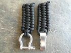Paracord 550 Watch band with Stainless Steel Adjustable Bow Shackle
