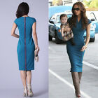 Womens Bodycon Dress Shift Pencil Wiggle Formal Work Business Office Party Dress