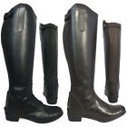 Ladies Tall Equestrian Riding Showing Regular Wide Equi-Leather Boots Size 3-10