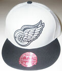 NHL Detroit Red Wings Mitchell and Ness Vintage XL Logo Cap Hat M