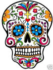 Day of the dead sugar skull - iron on t shirt transfer or sticker