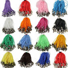 100pcs 20 Candy Color Charm Mobile Phone Dangle Strap String Thread Cord 50mm