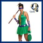 Women's Donatello Teenage Mutant Ninja Turtle Costume | Licensed Fancy Dress