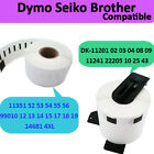 Multi Rolls 40 Models BROTHER DYMO SEIKO Compatible Address Labels Self-adhesive