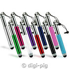 COLOUR RETRACTABLE TOUCH STYLUS CAPACITIVE PEN FOR TESCO HUDL ANDROID TABLET
