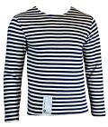 Genuine RUSSIAN NAVY Blue Stripe WINTER ISSUE Jumper Top All SIZES Telnyashka