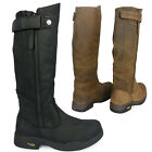 WOMENS EQUESTRIAN WALKING WATERPROOF GIRLS STABLE LEATHER BOOTS SIZE 3 4 5 6 7 8