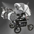 Lux4Kids Magnum Pushchair Pram Combined Stroller with Buggy