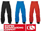 BONFIRE DAVIS Pant Snowboard Uomo Classic Fit Collection 2013/14