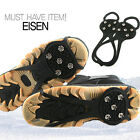 Shoe Spike/Sports,Leisure,outdoor,Snowy&icy roads,Climbing,Anti-sliding(#Eisen)