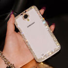 Bling Deluxe Lady Diamond Case Cover For iphone 5S 4 Samsung Note i9500 i9300