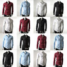 Fashion New PJ Mens Luxury Formal Casual Fit Dress Shirt 2014 Collection Tops