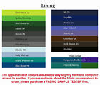 Lining, 50 colours+,per/M, 115cm wide *UK Depot*