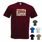 'This is What an Awesome Cleaner Looks Like' Cleaning OCD Funny T-shirt Tee