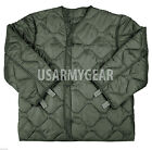 US Foliage Green Cold Weather Quilted Acu LINER for M65 Field Coat M L XL XXL