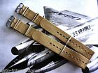 NATO G10 Khaki Brown Ballistic Nylon Military watchband strap IW SUISSE 18-20-22 image