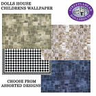 Dolls House A3 Flooring Choose from Assorted Designs