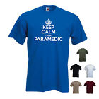 'Keep Calm I'm a Paramedic' Ambulance Funny Gift T-shirt Tee
