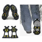 #1 Traction Over Shoes Snow & Ice Anti Slip Grip Cleats-10 Spikes!Ships from USA