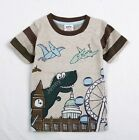 Boys Kids T-Rex Dinosaur Monster TShirt Top Age Mths Yrs Clothes Next Day Option