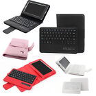 Leather Folding Removable Bluetooth Keyboard for Samsung Galaxy Tab 2 7.0 P3100