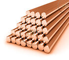500mm Round Copper Bar Milling Engraver Copper Round Bar C101 Grade All SIZES