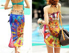 Hot Multi-use Multi Colour Beach Swim Shawl Wrap Long Scarf Swim Sarong BS01