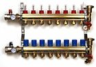 "2-12 Branch PEX Radiant Floor Heating BRASS Manifold Kit 1/2"" PEX FACTORY SEALED"